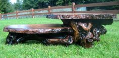 "Redwood Birds eye burl 2-tier table. $1750.  Approximate Size:    Top Tier:     Length: 26""  Width: 20""  Thickness 1 1/2""    Top Teir Hight: 12 1/2""    Bottom Tier:    Length: 24""  Width: 16""  Thickness 1 1/4""    Bottom Teir Hight: 8"""
