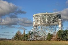 Lovell Telescope at Jodrell Bank Observatory. Being considered to be one of the UK's UNESCO World Heritage Sites.