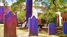 Spookiest cemeteries in the US @foxnews @gototravelgal St. James Parish cemetery, Wilmington, NC