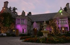 The #PlayboyMansion has been featured in numerous television shows and music videos.Photo: James Trevenen