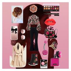 """""""Floral Fashionista"""" by kathryn-silvia on Polyvore featuring rag & bone, Jill Stuart, Topshop, Betsey Johnson, Bling Jewelry, Lime Crime, Smith & Cult, Victoria's Secret, Chanel and Miss Selfridge"""
