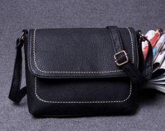 Dámska kožená taška na zips