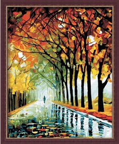 paint by number canvas