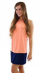 Hayli Dress, Peach, The Blue Door Boutique; ADorable shopping site!!!