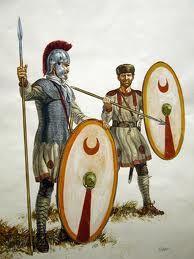 Fantassins Romains du Bas Empire