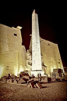Egypt by night