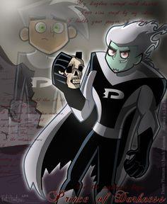 Dan Phantom-Prince of Darkness by Kat-Phantom