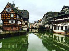 Strasbourg France Fransa Architecture Alsace Lorraine  Travel