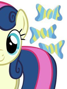 Sweetie Drops (aka Bon Bon) (Drawing by Unknown) My Little Pony List, Little Pony Cake, Little Pony Party, Mlp My Little Pony, My Little Pony Friendship, Cute Disney Wallpaper, Cartoon Wallpaper, Mlp Cutie Marks, Lyra Heartstrings
