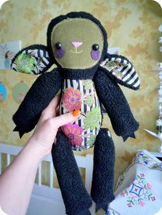 Lily  black sheepsoft art  toy creature  by by wassupbrothers