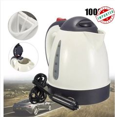Plug In Portable 12V Car Camping Kettle Water Heater Tea Maker For Mitsubishi