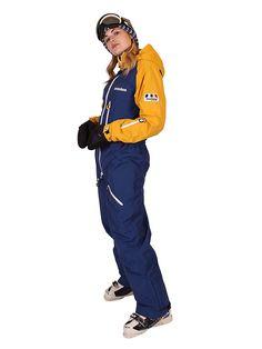 Oneskee Snowboard & Skioverall | Shell Oberbekleidung Freiheit Anzug || Style im Schnee | Overall Women | Onesie Damen | Catsuite | Schneeanzug | Skioverall | One Piece | Jacke Snowboarden | Outfit für den Winter | Sport Jacken warm | Kleidung Schifahren Frauen | Wintersport kalt | Ski Suit Aesthetic | Snowboardoutfit Damen | Edgy girl | Trendy Gear schenken | Ideen Geschenke für Frauen | affiliate link | Onesky | Oneski | Boarden | Schnee | Einteiler | gelb dunkelblau blau marine | Catsuit, Snowboarding Outfit, Outfits Damen, Overall, Canada Goose Jackets, Winter Jackets, One Piece, Fashion, Jackets
