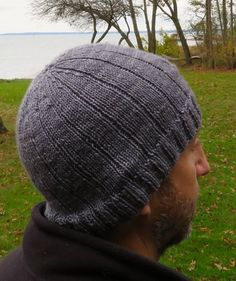 Husband Request Hat Knitting pattern by Lena Mathisson – Knitting For Beginners Mens Hat Knitting Pattern, Mittens Pattern, Knit Hat For Men, Hat For Man, Loom Hats, Baby Scarf, Christmas Knitting Patterns, Sport Weight Yarn, Stylish Hats