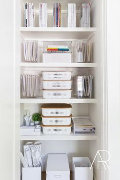 for Rue Magazine with The Home Edit a… Office organization. for Rue Magazine with The Home Edit and Alyssa Rosenheck Home Office Closet, Home Office Storage, Home Office Organization, Organizing Your Home, Home Office Design, Home Office Decor, Home Decor, Organizing Tips, Office Ideas