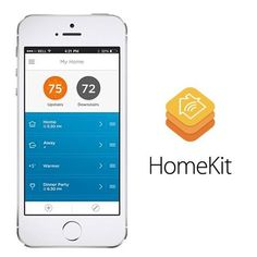 The first devices that connect with Apple HomeKit are here! Apple users can use their iOS systems and Siri to control the thermostat, lighting and other parts of the home.