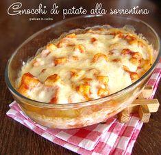 Gnocchi di patate alla sorrentina http://blog.giallozafferano.it/graficareincucina/gnocchi-di-patate-alla-sorrentina/
