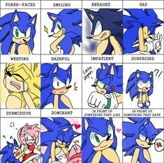 Kinds of Sonic by RulErofsonic