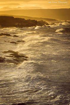 Rosehearty waves, Aberdeenshire coast, Scotland