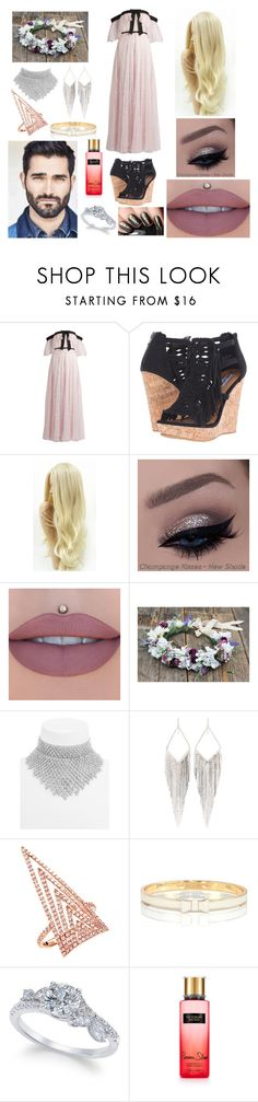 """Untitled #641"" by tahoegirl ❤ liked on Polyvore featuring Giambattista Valli, Not Rated, BaubleBar, Jules Smith, Everest, Kate Spade and Victoria's Secret"