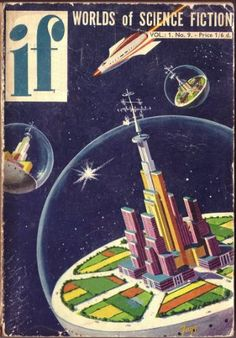 cool vintage sci fi book covers