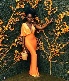 A look🔥🧡😍🥰❣️. Black Girl Aesthetic, Polo Classic, Black Women Fashion, Looks Style, Beautiful Black Women, Mode Inspiration, Black Girl Magic, The Dress, African Fashion