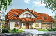 Projekt Fokus 2 jest kolejna wersją wariantową projektu Fokus - z podwójnym garażem i powiększonym strychem nad częścią garażową. Budynek został zaplanowany z myślą o  cztero-sześcioosobowej rodzinie. Parterowy dom z użytkowym poddaszem, przekryty dwuspadowymi symetrycznymi dachami. Architektura zewnętrzna domu nawiązuje do tradycji polskiego dworku - we współczesnym ujęciu.