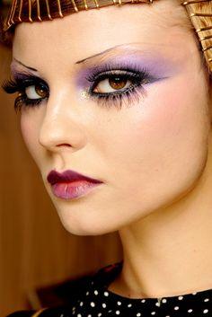 1920s meets far east  #makeup