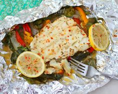 Curry and Comfort: Cod and Spinach in Foil Packets