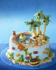 Harborfields Young Adult Central: Tropical Summer Cakes