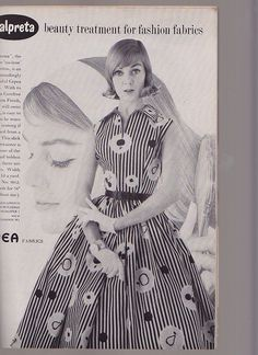 Vogue Pattern Book, April-May 1957 featuring Vogue 9012