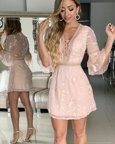 Pinned onto 2018 winter outfits Board in 2018 winter outfits Category Cute Dresses, Beautiful Dresses, Casual Dresses, Short Dresses, Event Dresses, Prom Dresses, Summer Dresses, Lace Dress, Dress Up