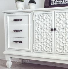 How To Add Legs To Furniture and White Furniture Paint Suggestions