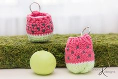Ravelry: EOS Lip Balm Holder / Key Chain pattern by Briana K Designs Poncho Knitting Patterns, Hand Knitting, Crochet Patterns, Easy Knit Hat, Foundation Single Crochet, Front Post Double Crochet, Easy Knitting Projects, Eos Lip Balm, I Love This Yarn