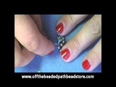 Easy Montee Ring from offthebeadedpath.com/YouTube- gotta love Kelly!