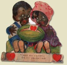 Made in Germany Black African American Valentine