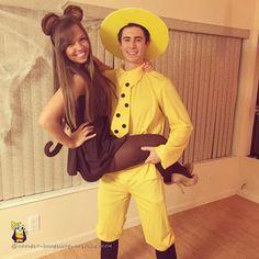 Curious George Couple Costume