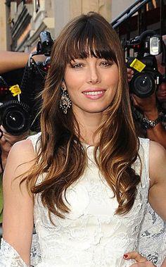 Jessica Biels soft curls