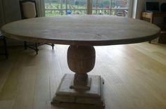 Ronde Eiken Tafel : Beste afbeeldingen van eiken tafels rond round dining room