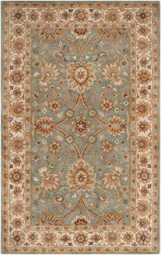 Surya Clifton CLF-1018 Pigeon Gray, White, Parchment Area Rugs