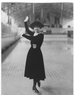 Theresa Weld Blanchard. The first American figure skater to capture a medal at the Olympics.