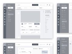 Quality Wireframes Inspiration — Muzli -Design Inspiration — Medium