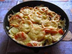 шеф-повар Одноклассники: Овощная запеканка