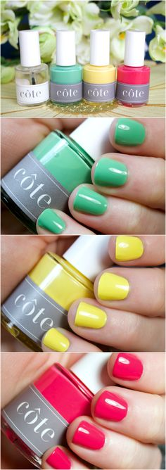 Côte Cruelty Free Nail Color in fun Spring Shades!