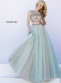 Gorgeous Two Piece Sherri Hill Dress 11271
