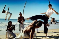 "Karlie Kloss in ""Brazilian Treatment"" - US Vogue, July 2012"