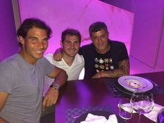Rafa Nadal, Iker Casillas & Alejandro Sanz... Madrid 2014!!!