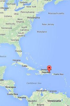 MAP Punta Cana Dominican Republic (*sigh* more than a bit envious)