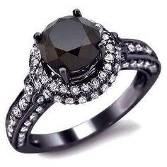 anillo negro compromiso