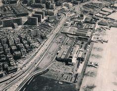 1970 Kaitak airport airview