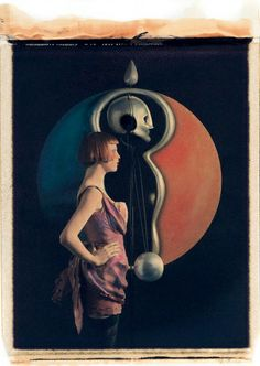 - Karen Elson in Dior Couture by Karl Lagerfeld 4 Vogue Walter Gropius, Karl Lagerfeld, Paris December, Bauhaus Architecture, Karen Elson, Berlin, Art Deco Paintings, Glasgow School Of Art, Arts And Crafts Movement
